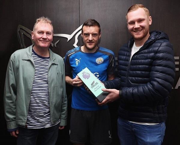Vardy vince il premio di Gol del Mese di marzo