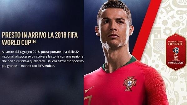 FIFA Mobile, anche su smartphone arrivano i Mondiali di Russia 2018