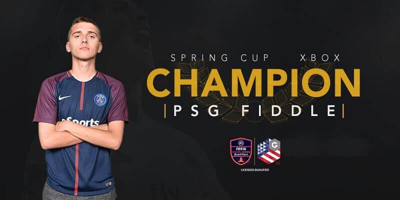 PSG Fiddle, vincitore del torneo XBOX One di Orlando valido per la qualificazione al FIFA eWorld Cup