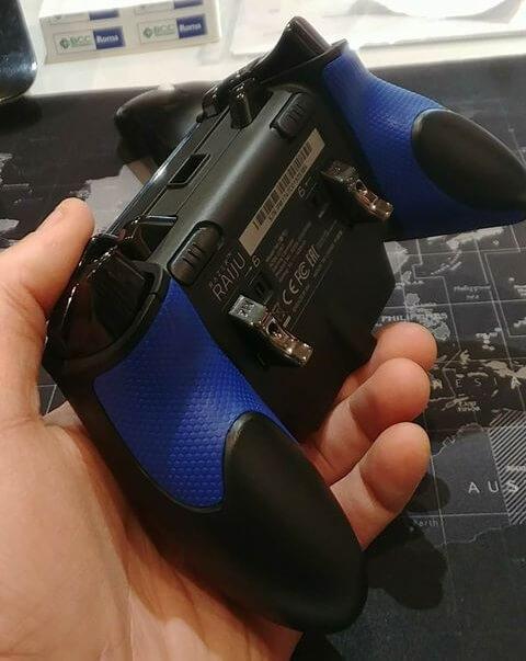 I tasti posteriori del controller PS4 Razer Raijiu