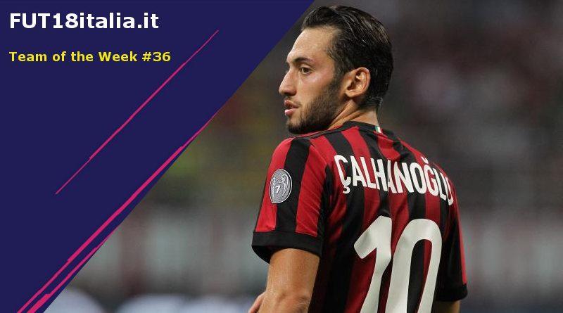 Calhanoglu protagonista nel TOTW 36 su FIFA 18