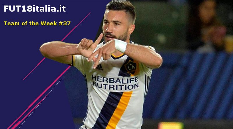 Alessandrini 84 nel Team of the Week 37 su FIFA 18