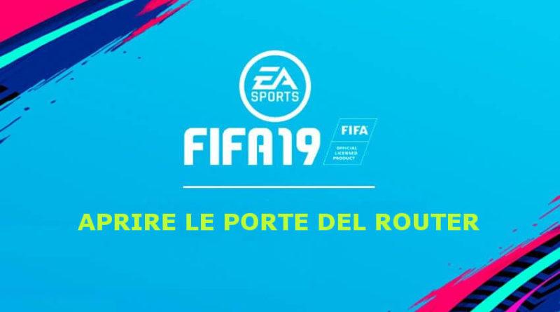 Come aprire le porte del router per EA Sports FIFA