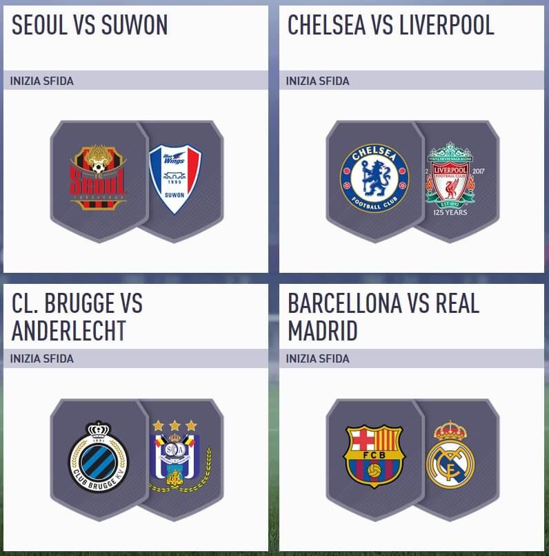 Due big match negli Incontri Principali selezionati da EA Sports per il 1 maggio