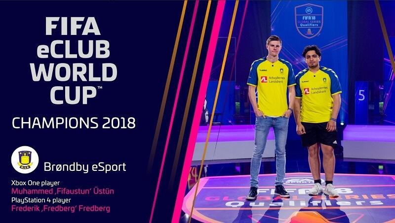 Brondby eSports vince il torneo FIFA eWorld Cup a Parigi