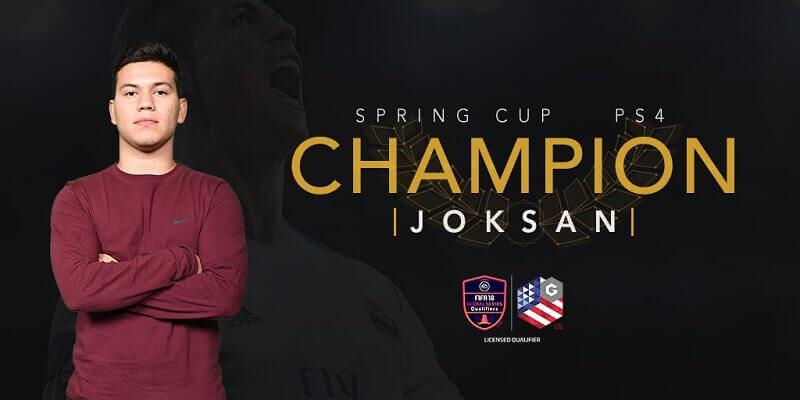 Joksan, vincitore del torneo PS4 di Orlando valido per la qualificazione al FIFA eWorld Cup