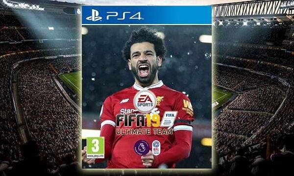 Salah nella ipotetica copertina di FIFA 19