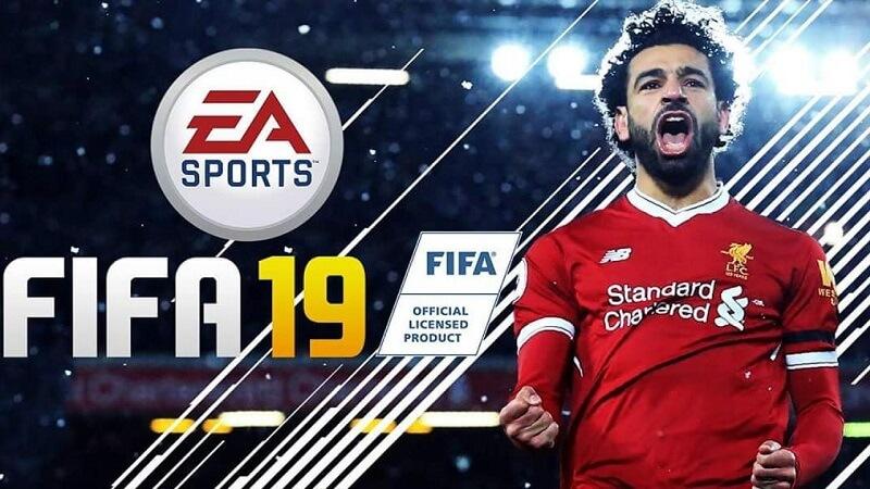 Salah nel menù ufficiale di FIFA 19, un concept con l'attaccante egiziano