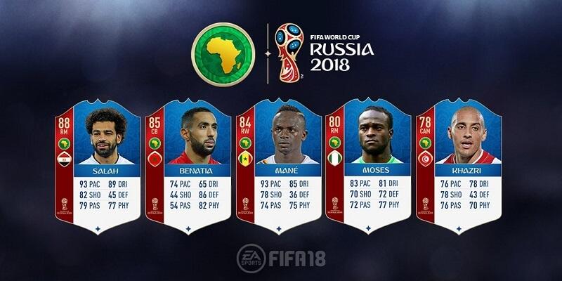 Valutazione dei calciatori della Confederazione Africana di Calcio
