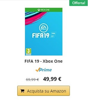 FIFA 19 in promozione per il preordine su Amazon