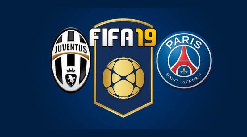 FIFA 19 full match gameplay, partita completa, finale di Champions League fra Juventus e PSG