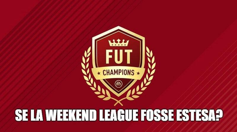 Se la FUT Champions Weekend League venisse estesa di 24 ore? Ecco i motivi