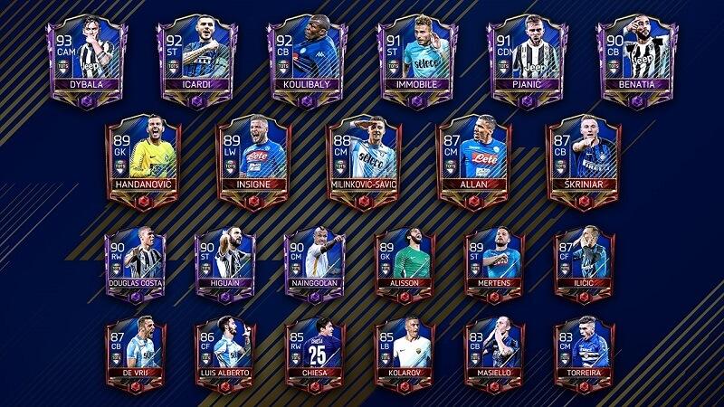 TOTS Serie A di FIFA Mobile (Calcio A)