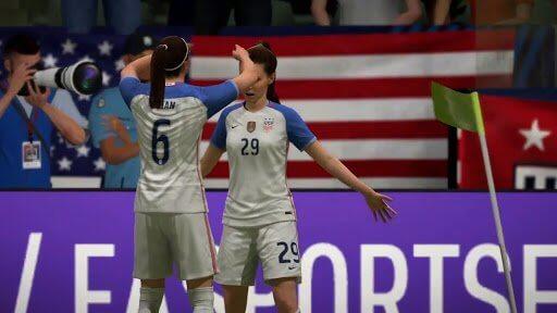 Calcio femminile in FIFA 19