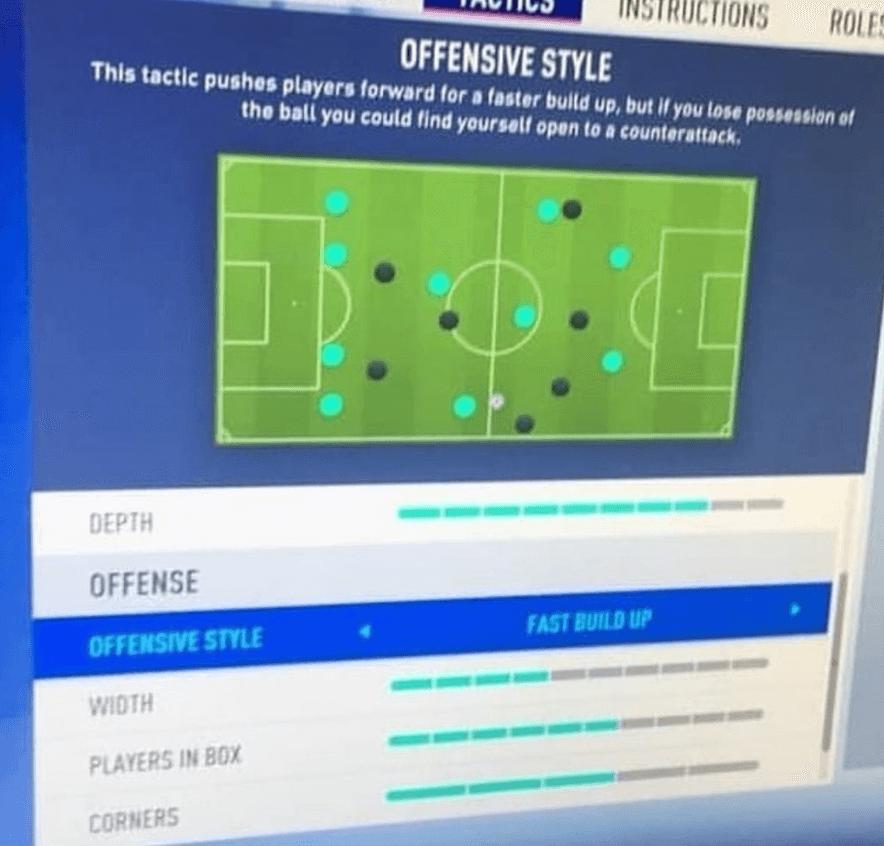 Dynamic Tactics, un nuovo sistema di personalizzare le tattiche dinamiche in arrivo su FIFA 19