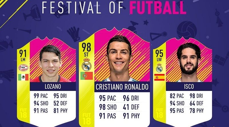 Festival of FUTball, il Team of the MatchDay numero 1 su FUT 18
