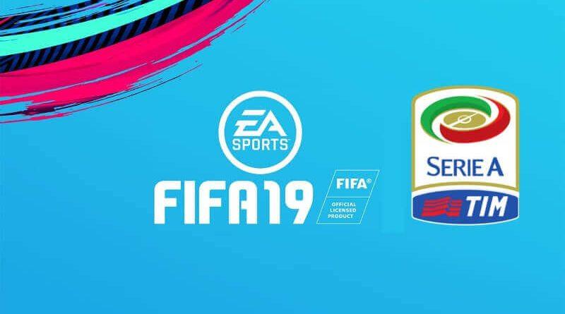 Licenza ufficiale del marchio Serie A TIM su FIFA 19?