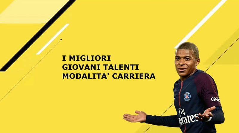 I migliori giovani talenti da far crescere nella modalità carriera di FIFA 18