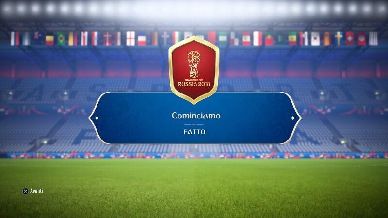 Sfida Creazione Rosa cominciamo in FUT World Cup