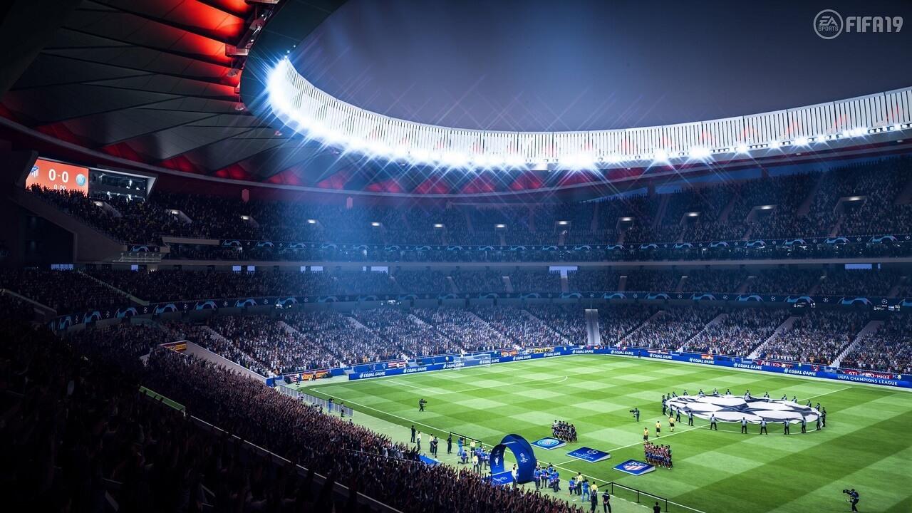 FIFA 19, Wanda Metropolitano, lo stadio dell'Atletico Madrid