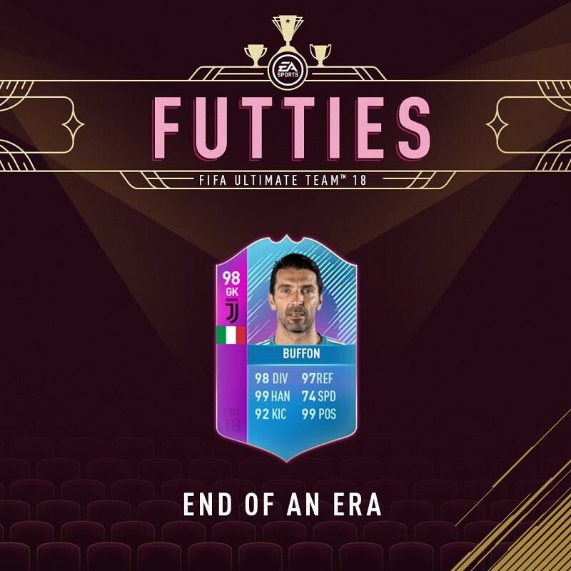Buffon End of an Era 98, sfida creazione rosa disponibile