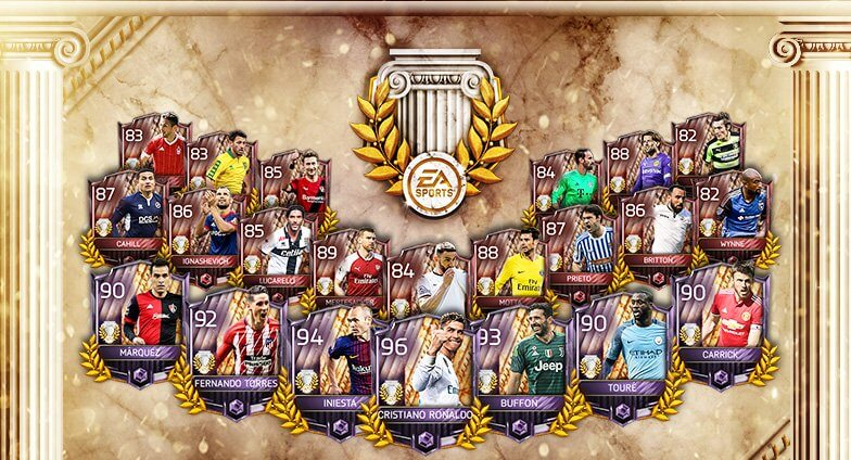 FIFA Mobile, disponibili i giocatori End of an Era