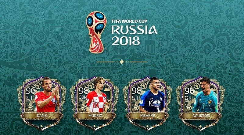 FIFA Mobile World Cup awards, premiato Courtois, Modric, Mbappé e Kane