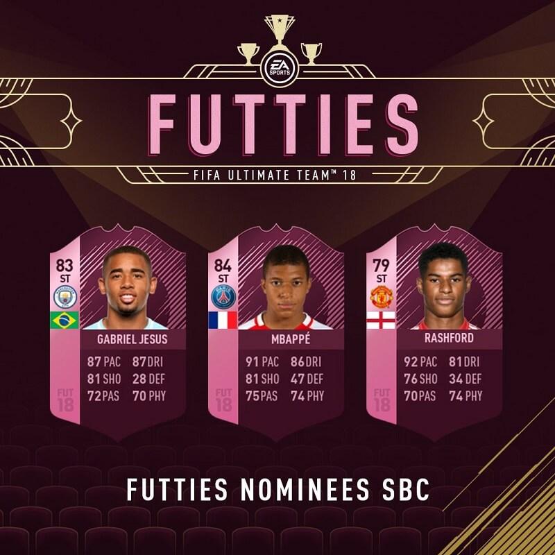 Vota gli Oscar di FUT per il ruolo di attaccante
