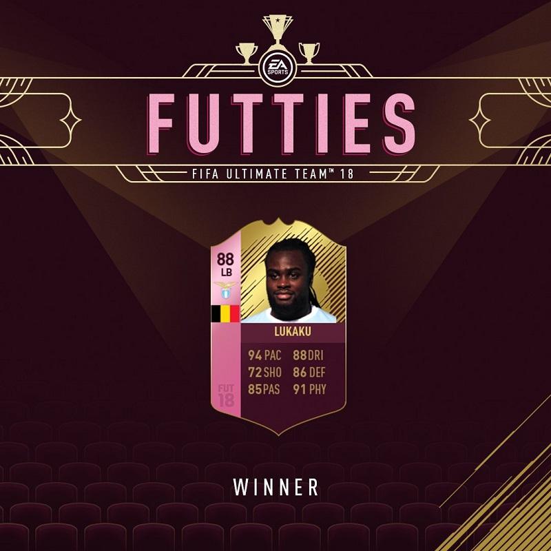 Jordan Lukaku vincitore degli Oscar di FUT per il ruolo di terzino sinistro