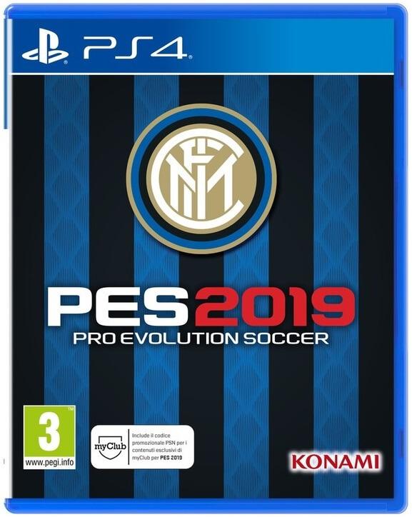 PES 2019 FC Inter Edition, nata dalla collaborazione fra Konami e la società Neroazzurra