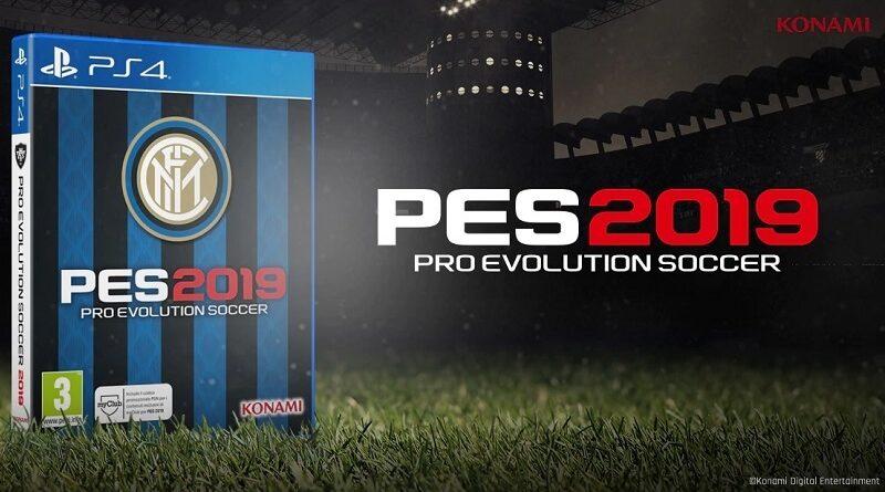 Pro Evolution Soccero 2019 FC Inter edition solo su Play Station 4