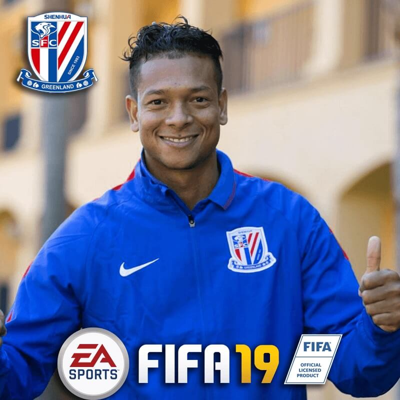 Fredy Guarin in Super League su FIFA 19