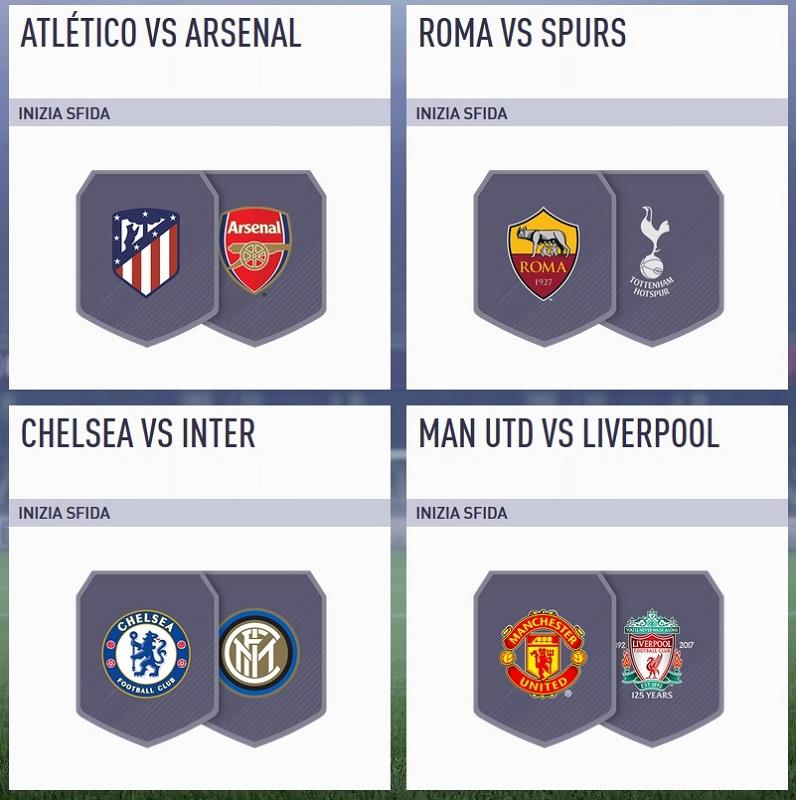 Match amichevoli nella sfida Incontri Principali del 24 luglio