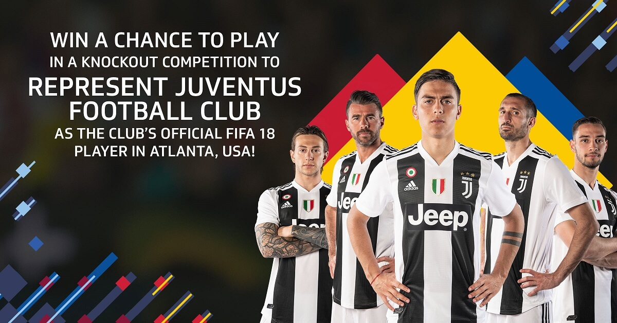 Rappresenta la Juventus negli eSports contro la rappresentativa della MLS