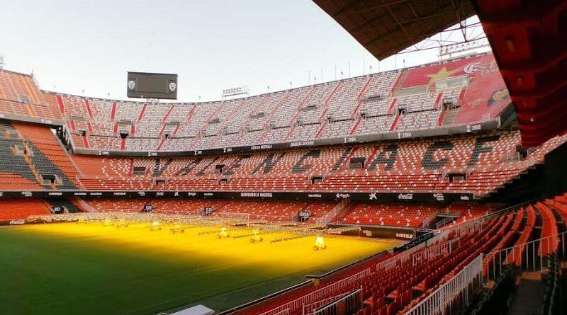 Mestalla Stadium di Valencia, il più antico di Spagna