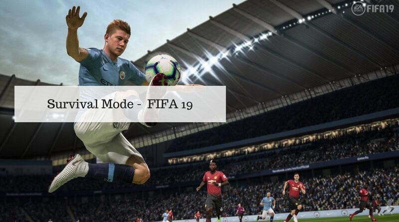 Survival Mode, modalità di sopravvivenza su FIFA 19