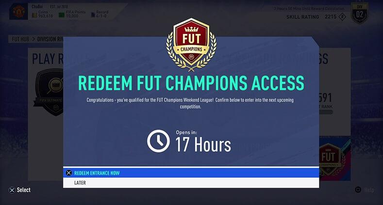 FIFA 19, come ottenere l'accesso alla FUT Champions Weekend League attraverso FUT Division Rivals