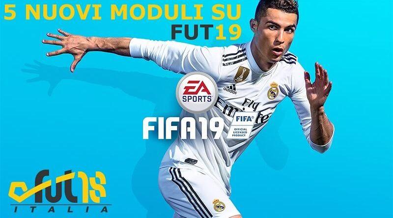 5 nuovi moduli su FIFA 19 Ultimate Team