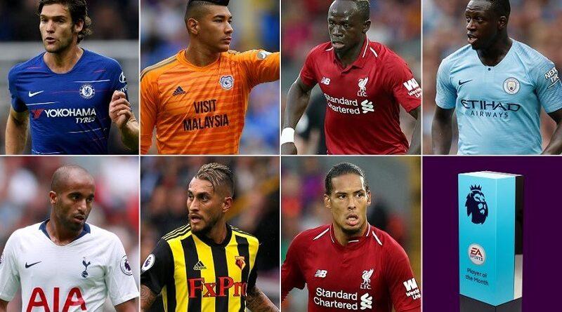 POTM Premier League di agosto, ecco i sette giocatori candidati