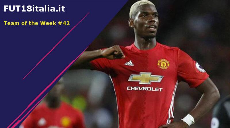 Paul Pogba 92 è il protagonista del TOTW 42 su FIFA 18