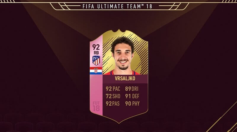 Vrsaljko 92 Futties, SBC disponibile ora