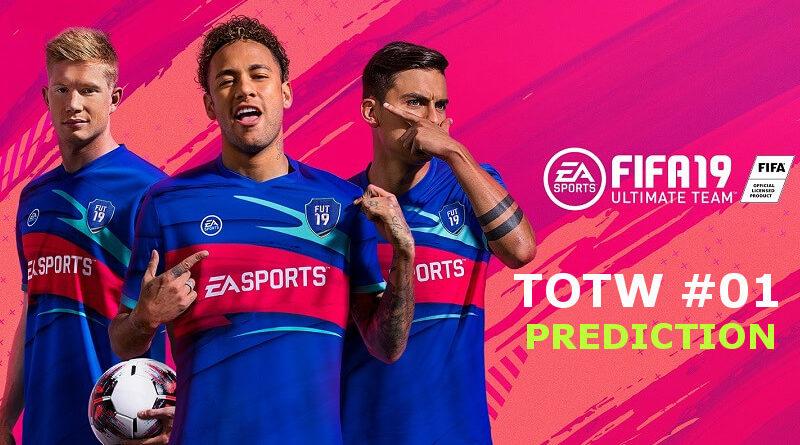 FIFA 19, TOTW 1 prediction