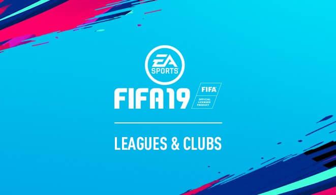 Tutte le squadre e nazionali giocabili in FIFA 19