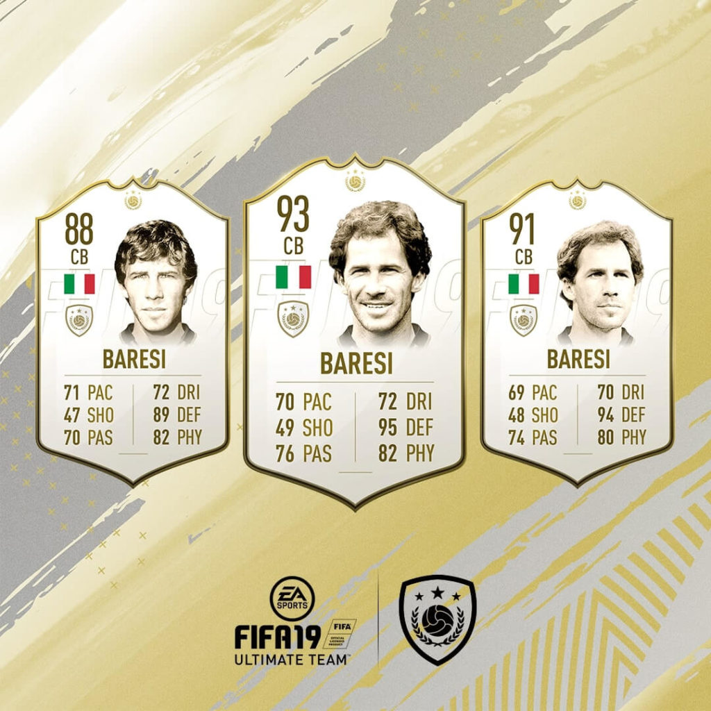 Franco Baresi icona in FIFA 19 #ClassOf19