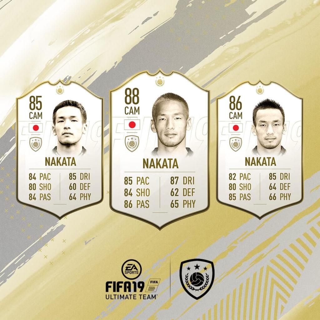 Nakata icona in FIFA 19 #ClassOf19