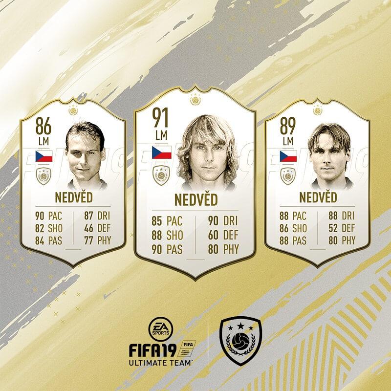 Pavel Nedved icona in FIFA 19 #ClassOf19
