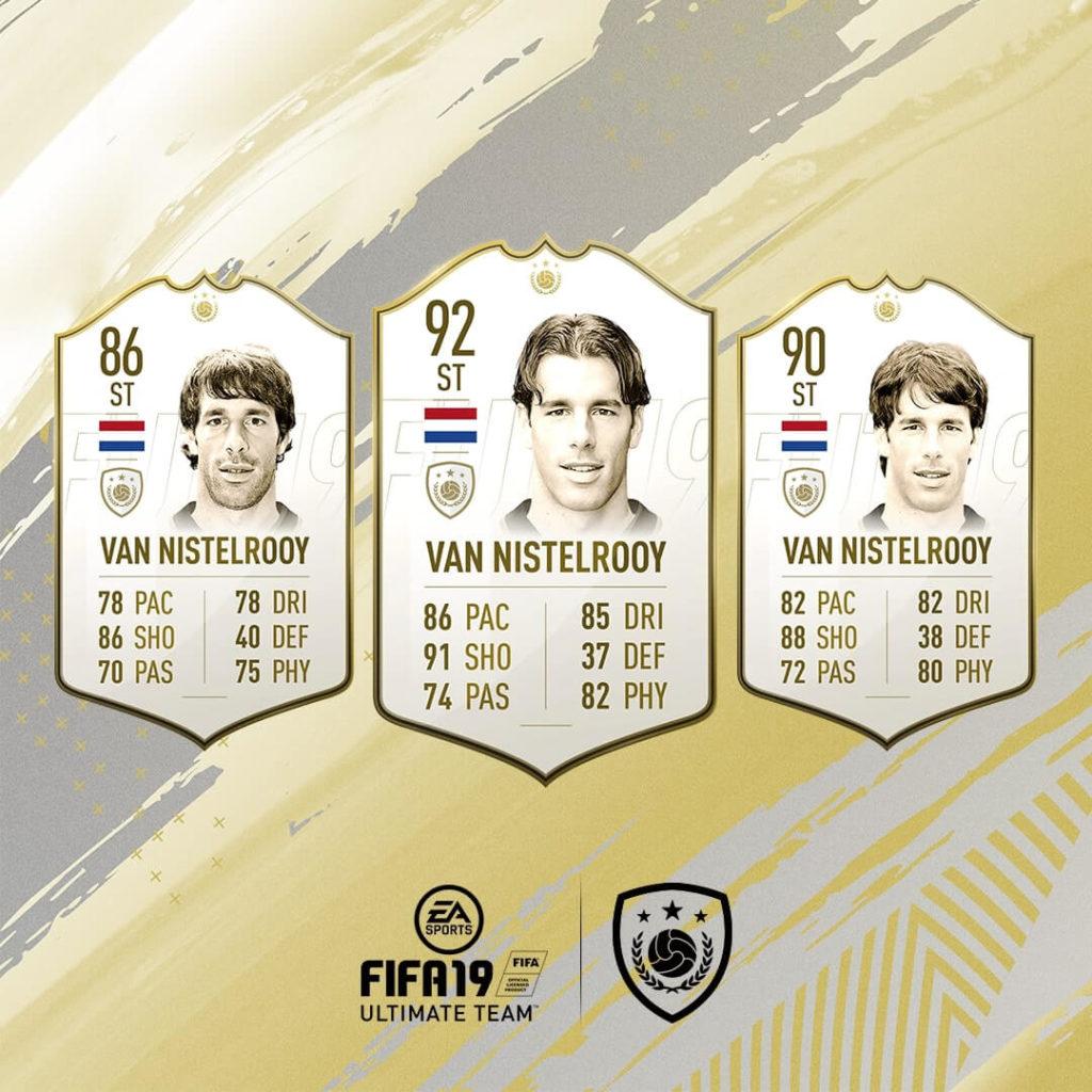 Van Nistelrooy icona in FIFA 19 #ClassOf19