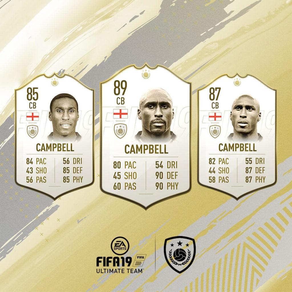 Sol Campbell icona in FIFA 19 #ClassOf19