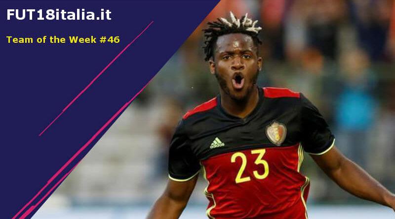 Team of the Week 46 su FIFA 18, Batshuayi e Bale i protagonisti