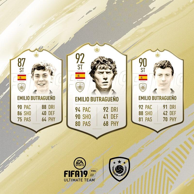 Emilio Butragueno icona in FIFA 19 #ClassOf19